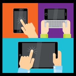 salon virtuel tablette smartphone ordinateur
